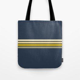 Gracia - Classic 60s Retro Stripes Tote Bag