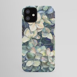 Summer hydrangea iPhone Case