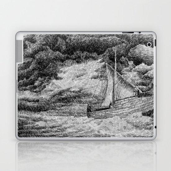 Fingerprint - Sailing Laptop & iPad Skin