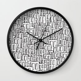 Watching city Wall Clock