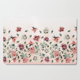 Border Flowers Cutting Board