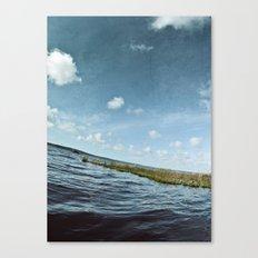 Ici et là Canvas Print