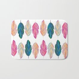 feather fully Bath Mat