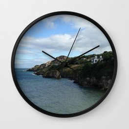 The Coast of Howth, Ireland Wall Clock