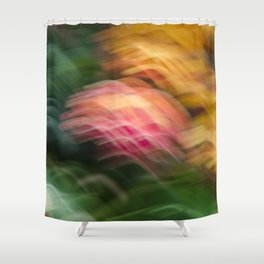 Gentle Ocean of Colors Shower Curtain