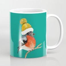 Christmas Bird Bullfinch Mug