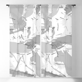 Abstract composition. Creative chaos Blackout Curtain