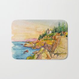 Acadia National Park Bath Mat