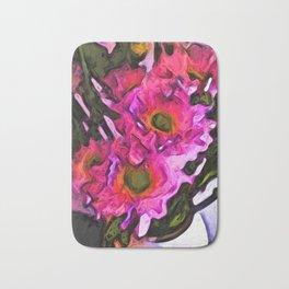 Flowers of Hot Pink 4 Bath Mat