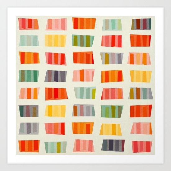 BEACH TOWELS Art Print