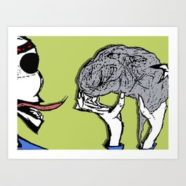 it's good for your soul Art Print