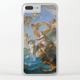The Abduction of Europa by Noel-Nicolas Coypel, 1727 Clear iPhone Case