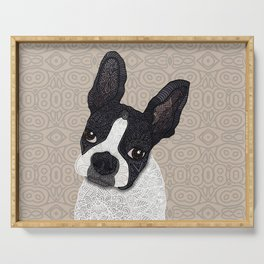 Boston Terrier 2015 Serving Tray