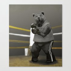 Old School Champion 1 Canvas Print