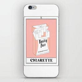 the cigarette tarot card iPhone Skin