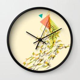Triangled 01 Wall Clock