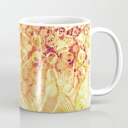 Pattern - Floral  monochrome Coffee Mug