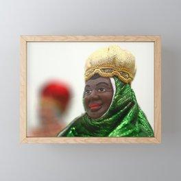 African Wise Men Framed Mini Art Print