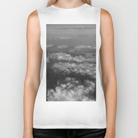 cloud Biker Tanks featuring cloud by habish