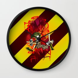 Bomb & Run Wall Clock