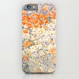 The Island Garden by Childe Hassam, 1892 iPhone Case