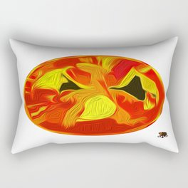 """""""The Dragon King"""" Rectangular Pillow"""