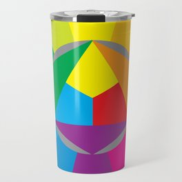 color wheel Travel Mug
