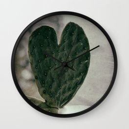 Padded Heart Wall Clock