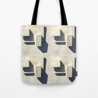 concrete Tote Bags featuring concrete  by Larry Fulton