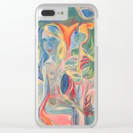 Metamorphosis Clear iPhone Case