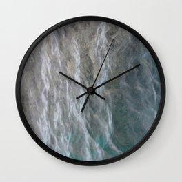 Shallow Sea Wall Clock
