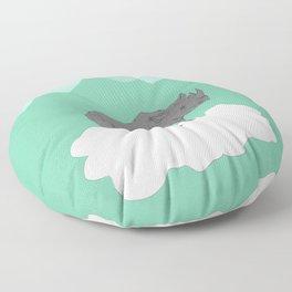 Floating Rhino Floor Pillow