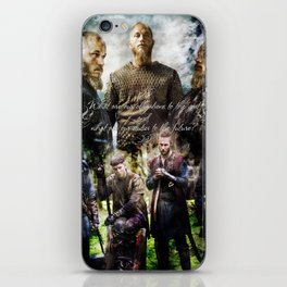 Ragnar's sons iPhone Skin