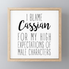 High Expectations - Cassian Framed Mini Art Print