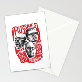 Russkies-Russian composers Stationery Cards