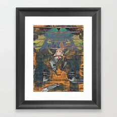 disquiet nineteen (unrecognized, well preserved) Framed Art Print