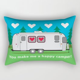 Love is in the Airstream Rectangular Pillow
