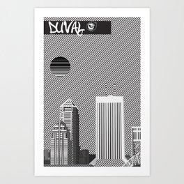 Duval Art Print