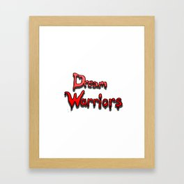 Dream warriors Framed Art Print