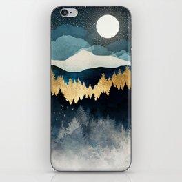 Indigo Night iPhone Skin