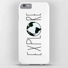 Explore the Globe Slim Case iPhone 6 Plus