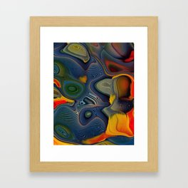 Feather Essence Framed Art Print