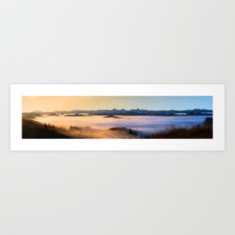 The Dawning of a New Day Art Print