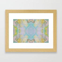 Cool Calm and Collected Framed Art Print