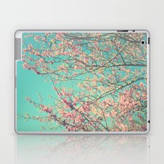 pretty pink blossoms Laptop & iPad Skin