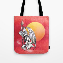 Winged Warrior Fairy Tote Bag