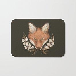 The Fox and Dogwoods Bath Mat