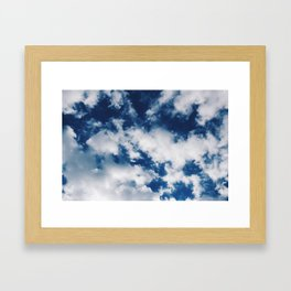 Skies of Blue Framed Art Print
