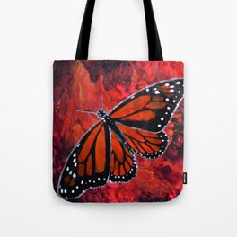 Winged Fire Tote Bag