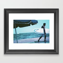 Hang 10 Framed Art Print
